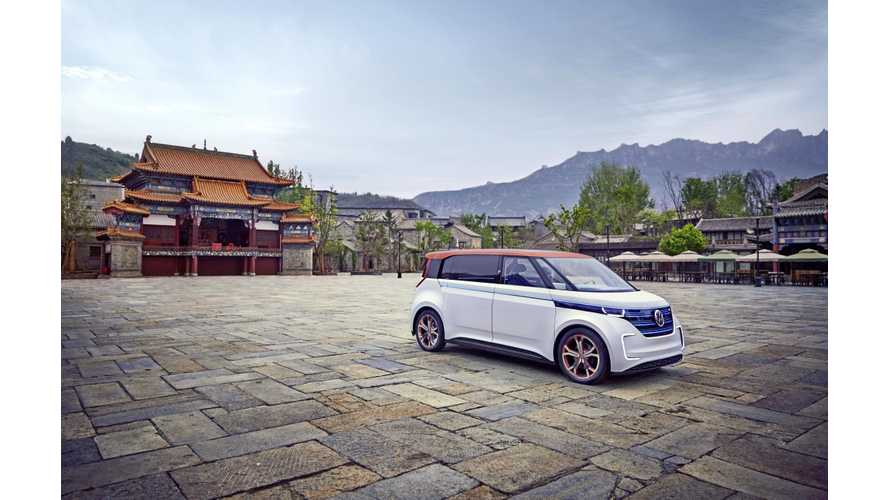 Volkswagen: BUDD-e Fascinates China