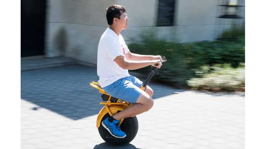 Meet Uno Bolt, The Electric, Self-Balancing Monowheeler