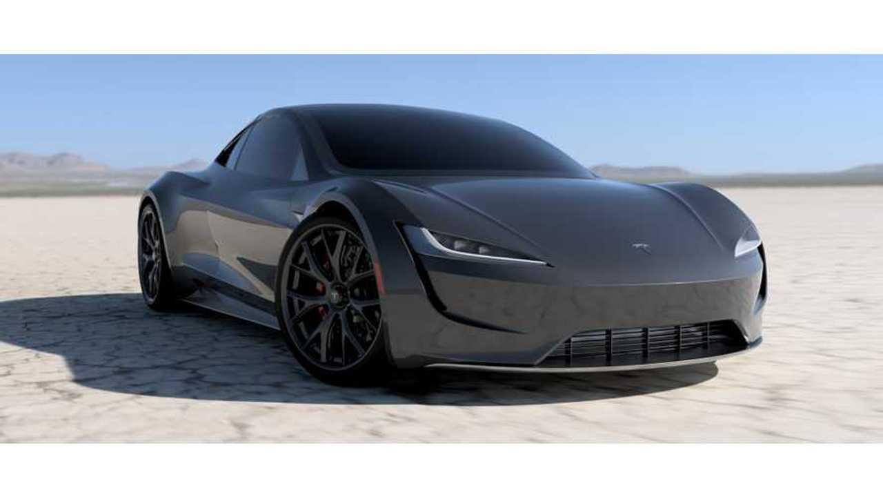 Tesla Roadster Rendered In Slick New Colors