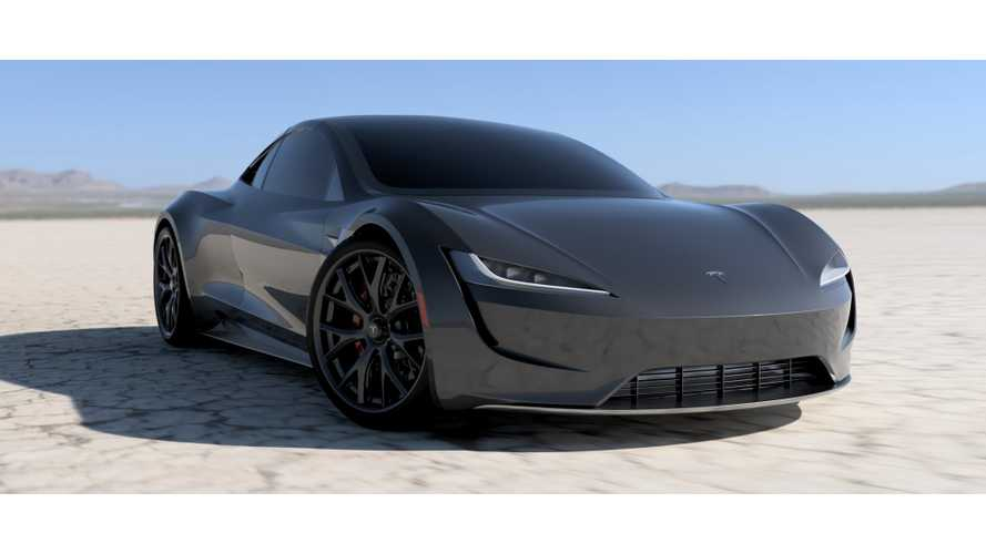 Tesla Roadster Rendered In Slick New Colors