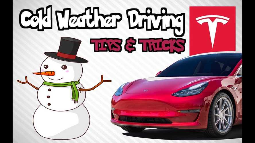 Tesla Model 3 Cold Weather Driving Tips & Tricks