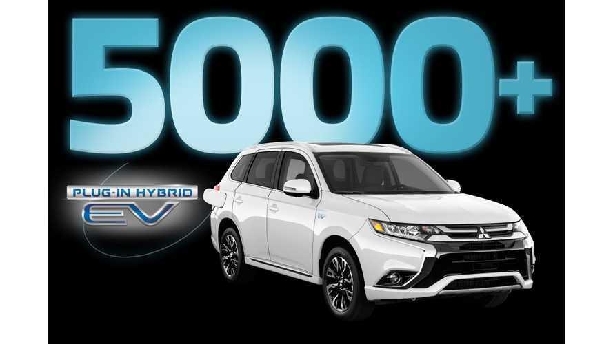 Mitsubishi Outlander PHEV Sales Booming In Canada