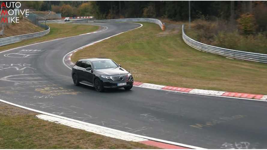Mercedes-Benz EQC Seems Quite Quick At Nürburgring: Video