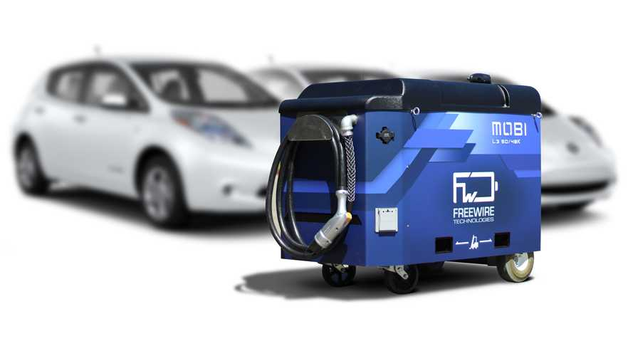 FreeWire Raises $15 Million In Financing For Mobile Fast Charging