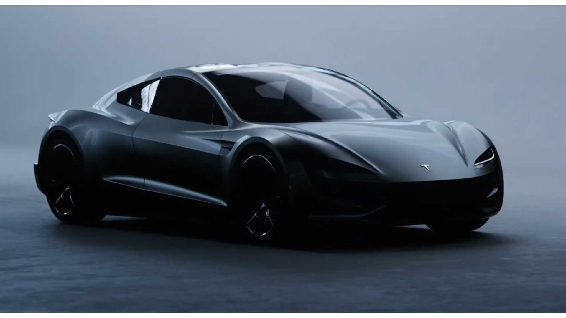 Watch New Tesla Roadster Appear In Stunning Tale Of Light Video