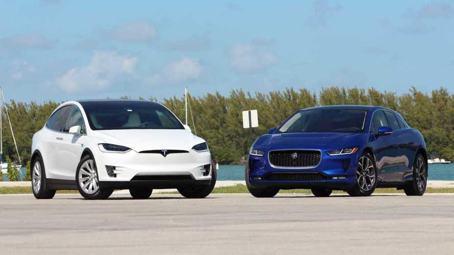 Comprehensive Comparison: Tesla Model X Versus Jaguar I-Pace