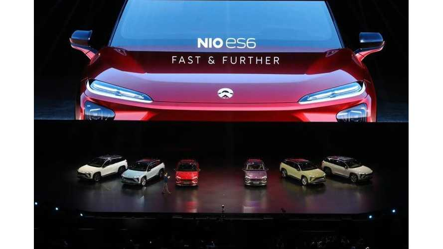 NIO ES6 Electric Crossover Specs, Images & Video From World Debut