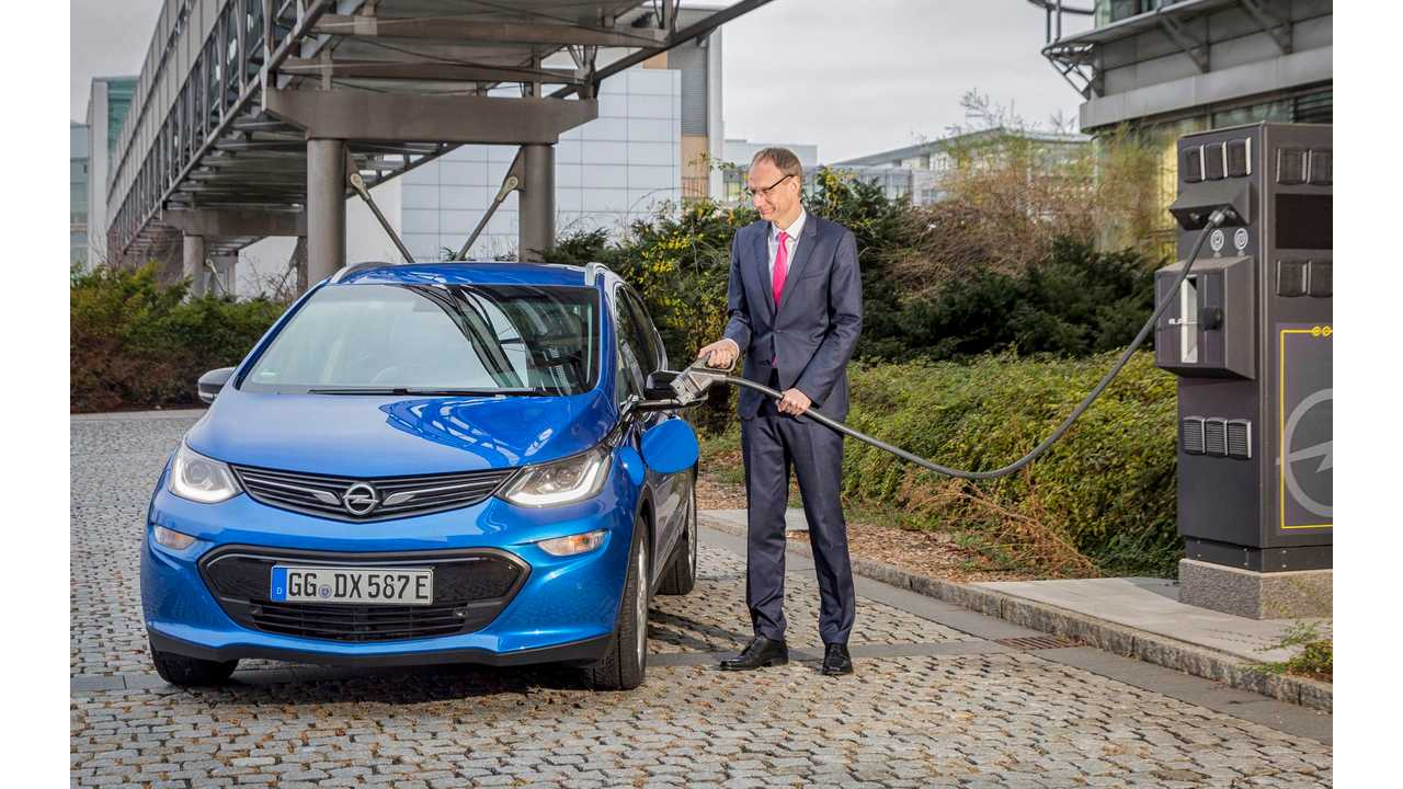 Opel Wants 1,300 EV Chargers In Its