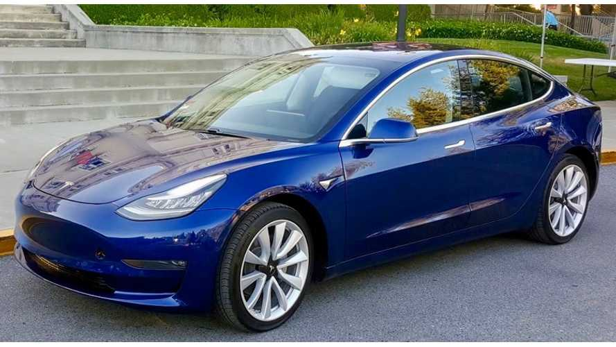 Tesla Model 3 Declared Vehicle Of The Year By Detroit News