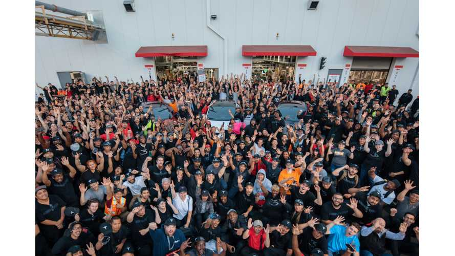 Tesla Q2 Production - Model 3 Hits 28,578, Total Reaches 53,339