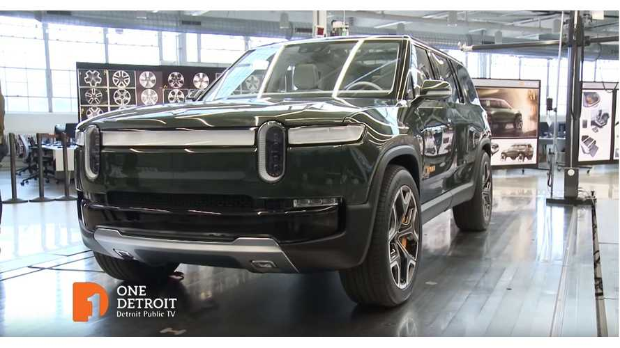 Watch This Inside Look At Rivian: See R1T Pickup Truck & R1S