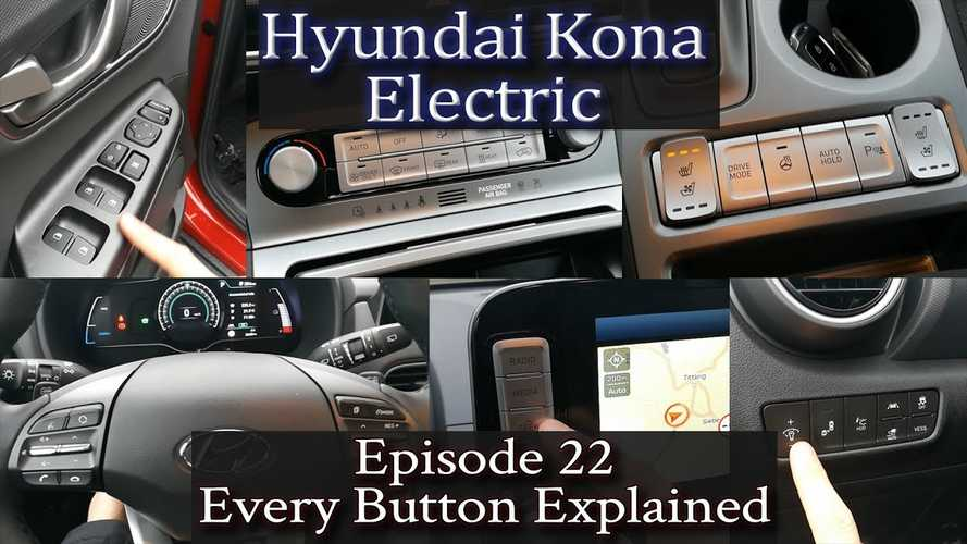 Hyundai Kona Electric - Every Button Explained & Explored: Video