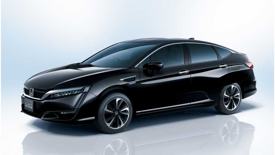 Honda Clarity Fuel Cell Sedan Now Available In Japan - Sales Target Set At 200 Units