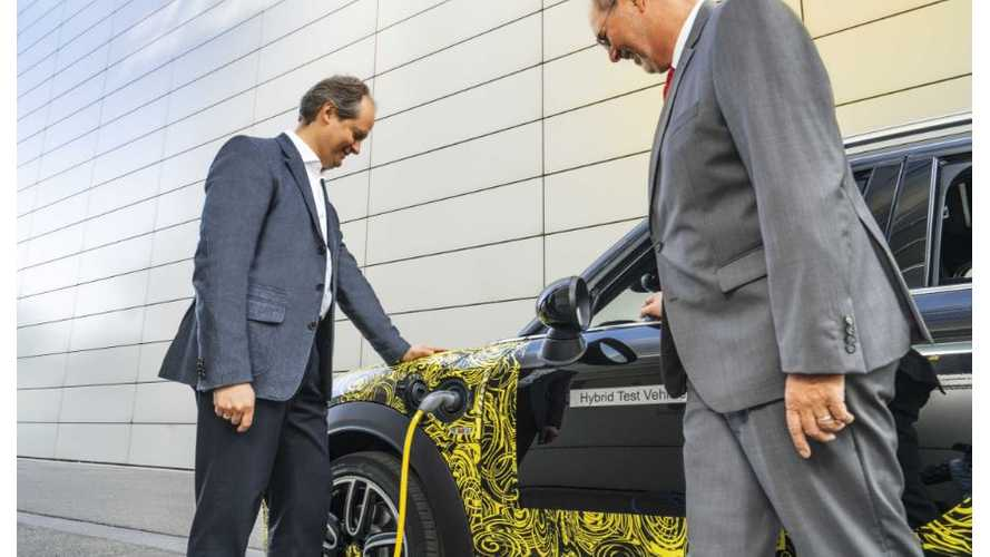Mini Execs Reveal Details On Automakers First Plug-In Hybrid Vehicle