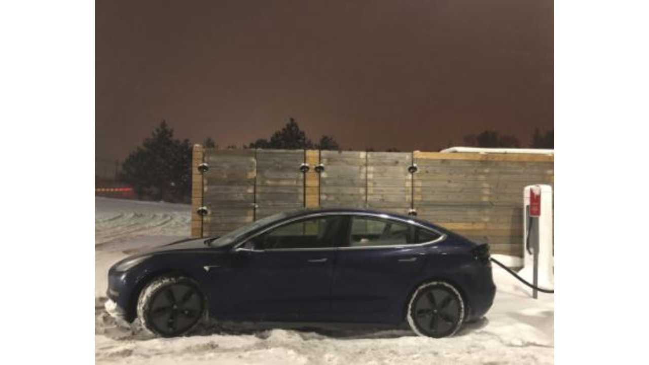 Tesla Model 3 Sets New Cannonball Run Record With InsideEVs On Board - Video