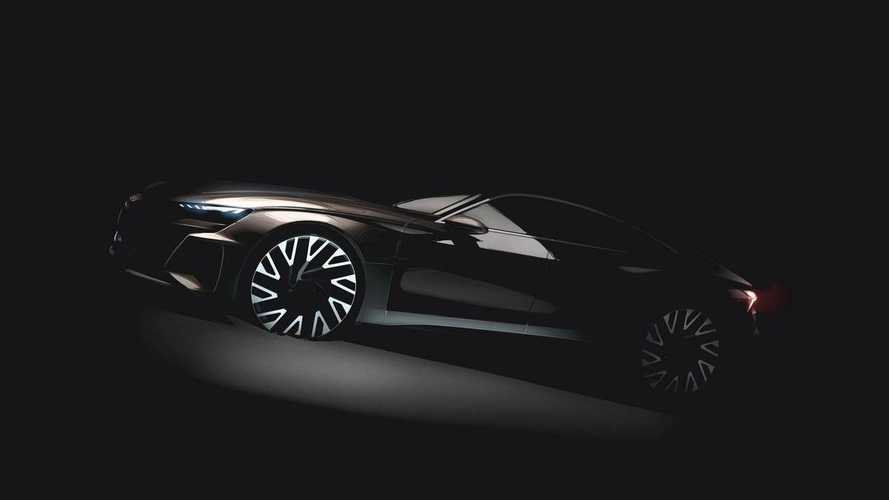 Audi Teases E-Tron GT, A True Tesla Model S Competitor 10 Years Late
