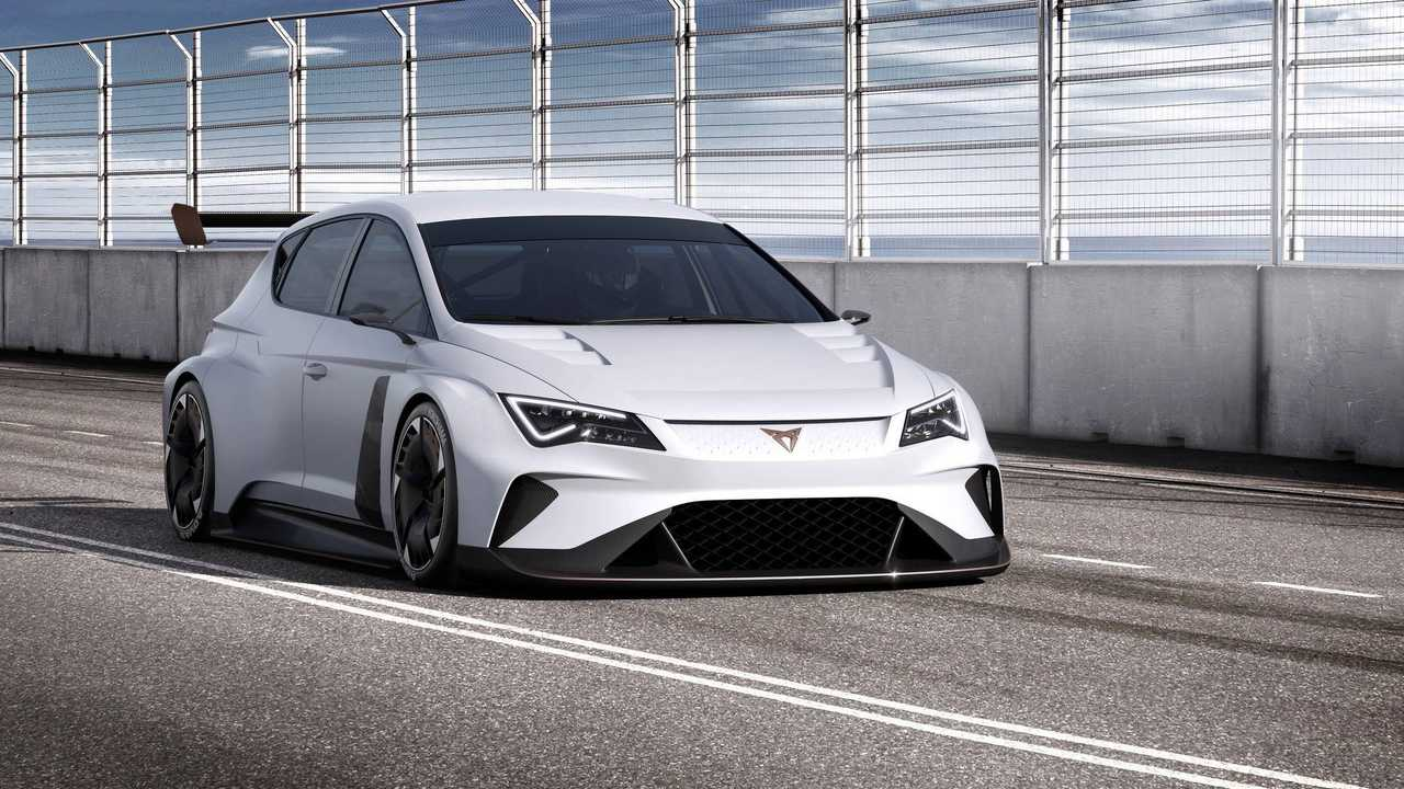 Cupra e-Racer Is An Electric Touring Car With 670 HP