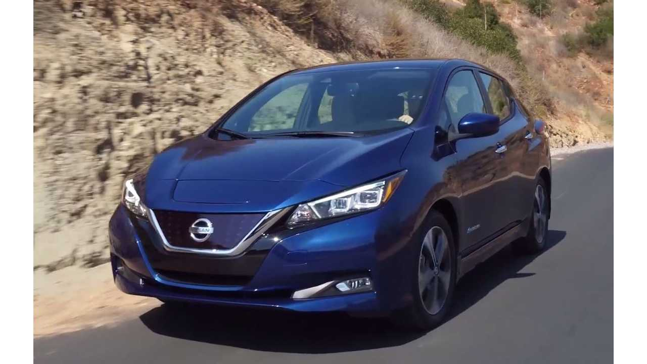 2018 Nissan LEAF Reveal Recap: 150 Miles This Year, 200+ Miles Next Year
