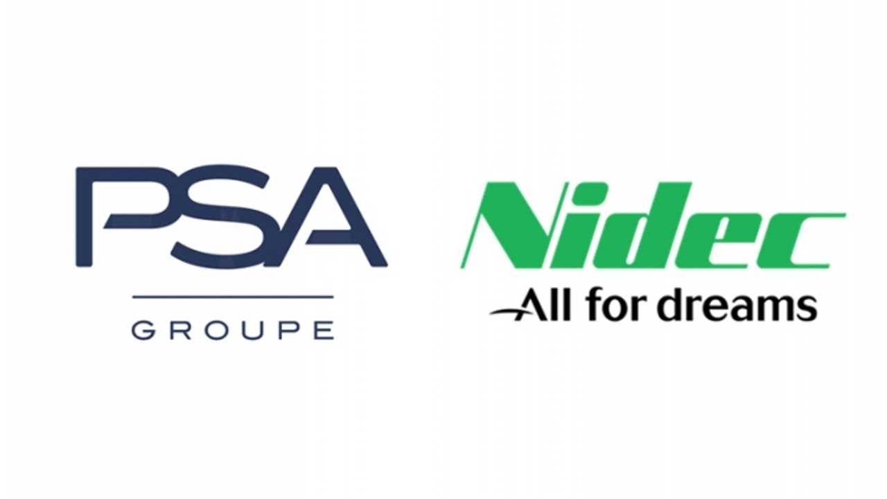 Groupe PSA and Nidec to set-up a leading joint venture for automotive electric traction motor