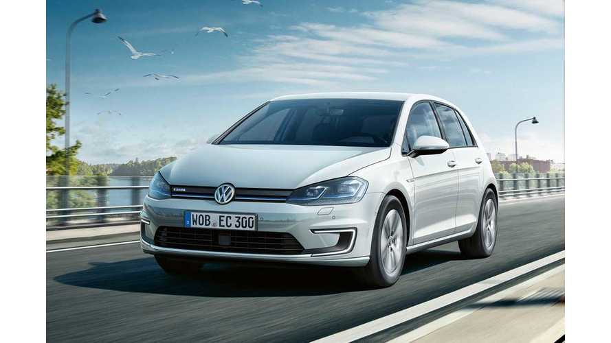 Updated 35.8 kWh Volkswagen e-Golf Now On Sale In Germany, Priced From €35,900