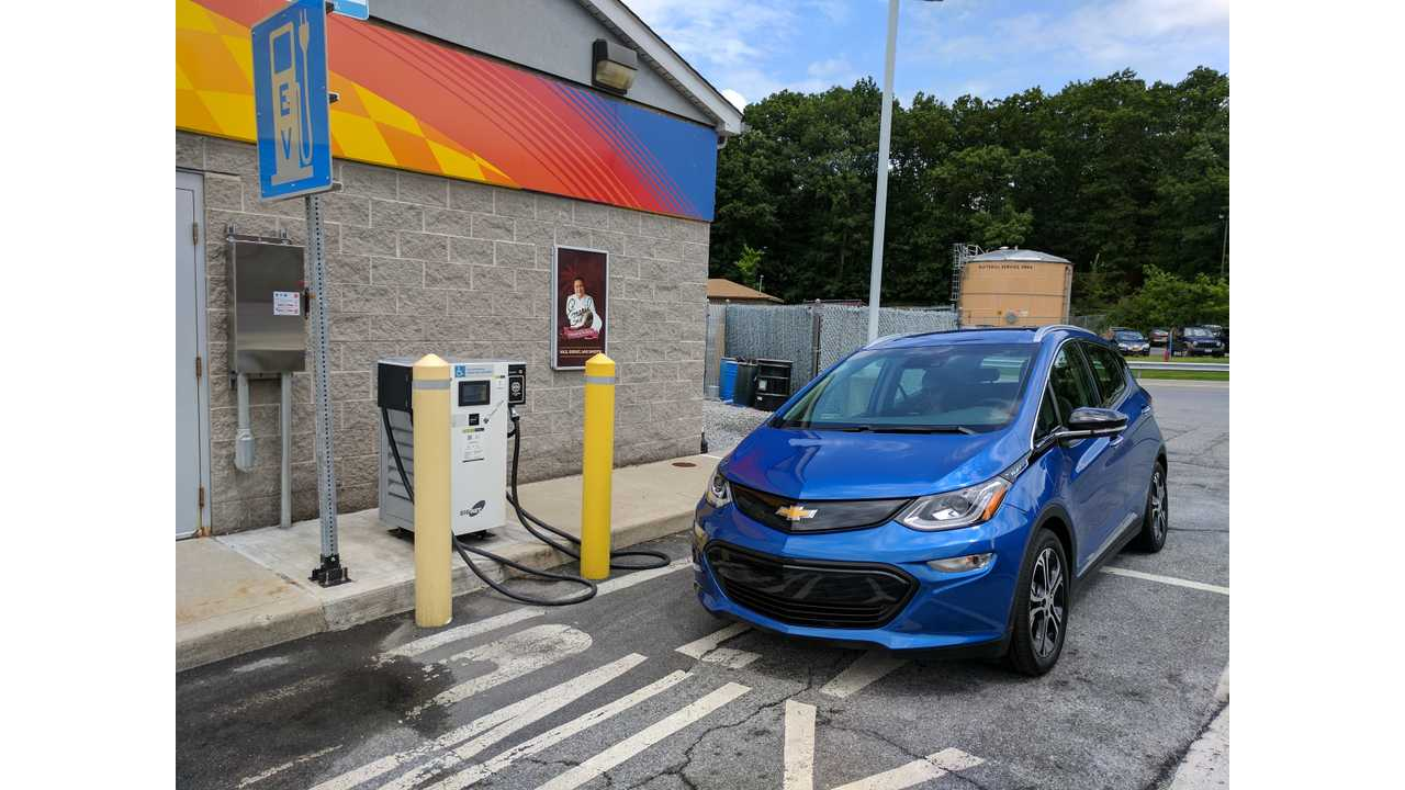 Chevrolet Bolt charging up
