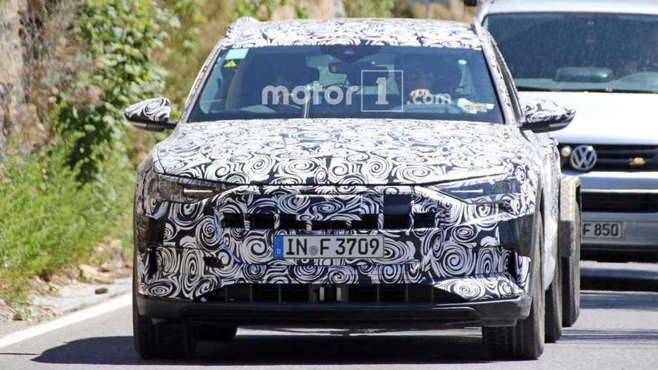 First Sighting Of Audi E-Tron Quattro Electric SUV