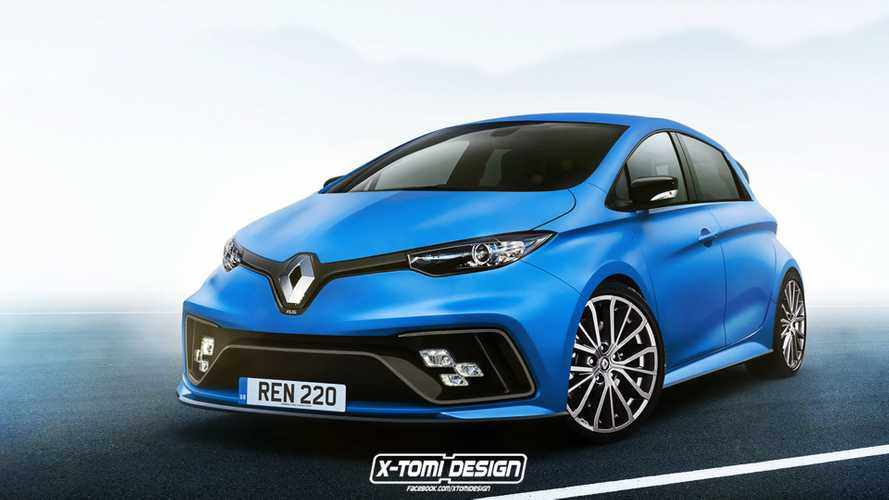 Renault ZOE RS Render Is Tamed Down Version Of E-Sport Concept