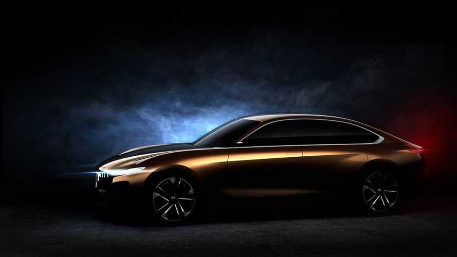 Pininfarina Teases H500 Electric Concept Car Ahead Of Chinese Debut