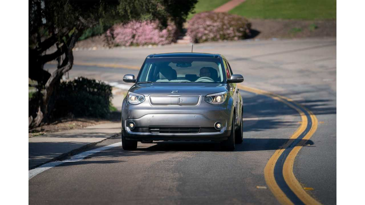 Kia Fits Soul EV With Wireless Charging