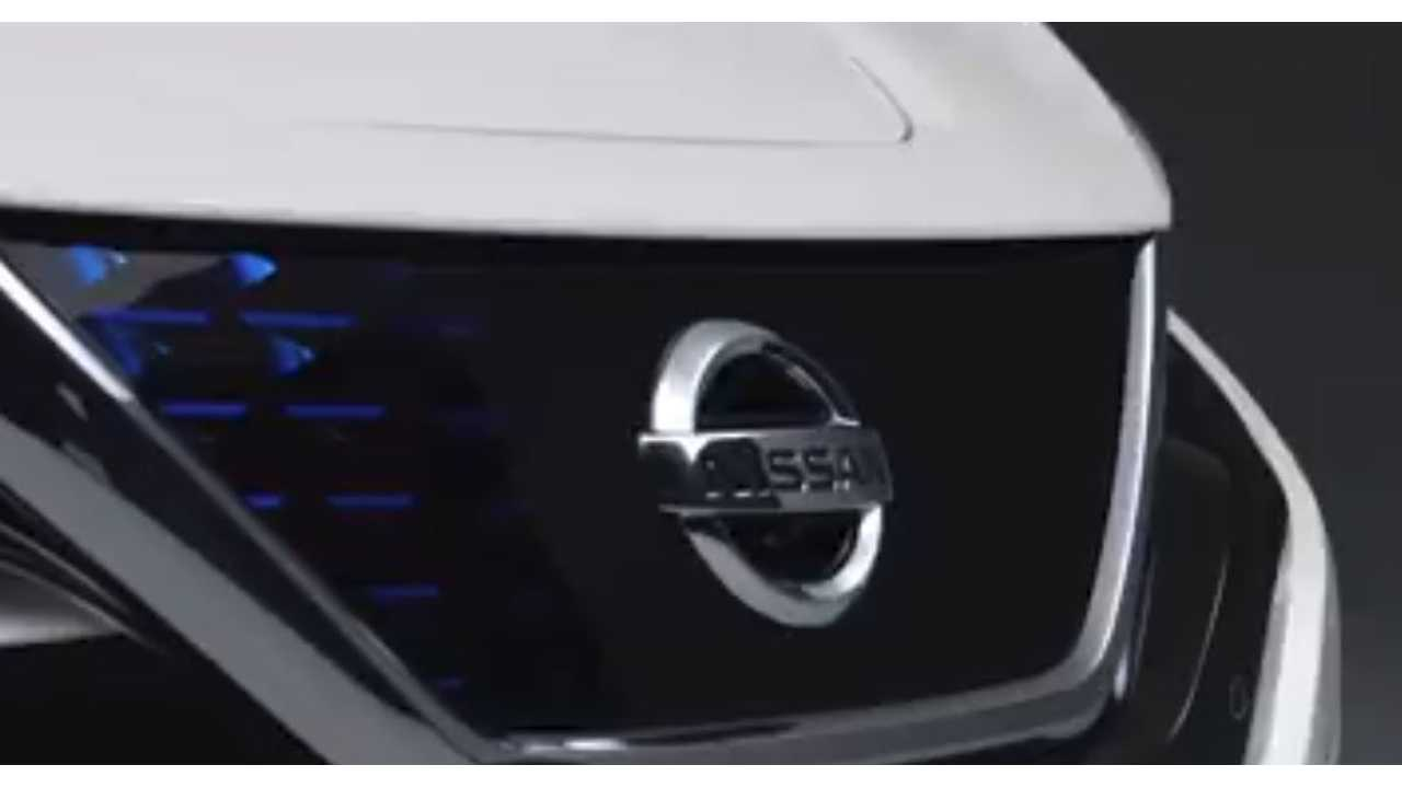 Nissan Reveals The Unexpected - Guess What? It's A LEAF