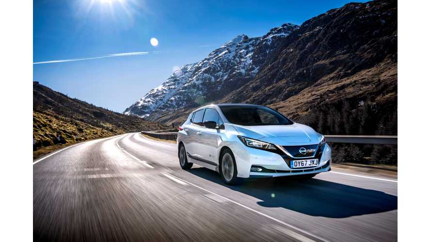 Nissan LEAF, Renault ZOE and Tesla Model S Lead European BEV Sales In March