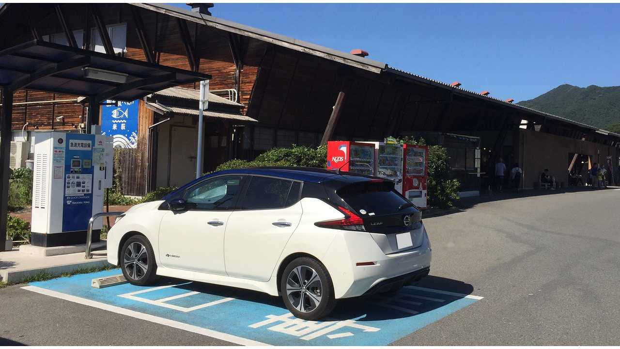 Nissan LEAF Sales Up 234% In Japan