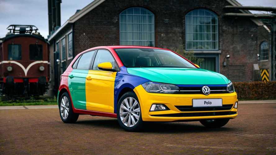 Volkswagen Polo Harlekin: série especial colorida é recriada 26 anos depois