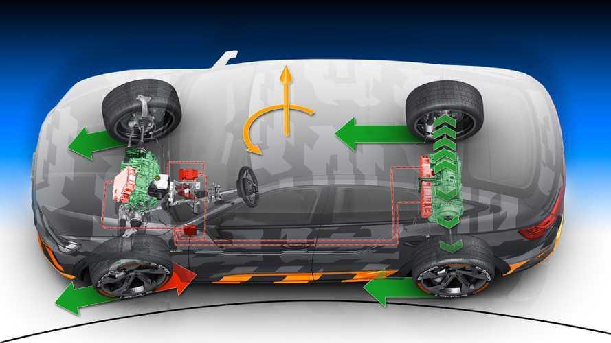 Trazione integrale elettrica, perché tre motori sono meglio di due