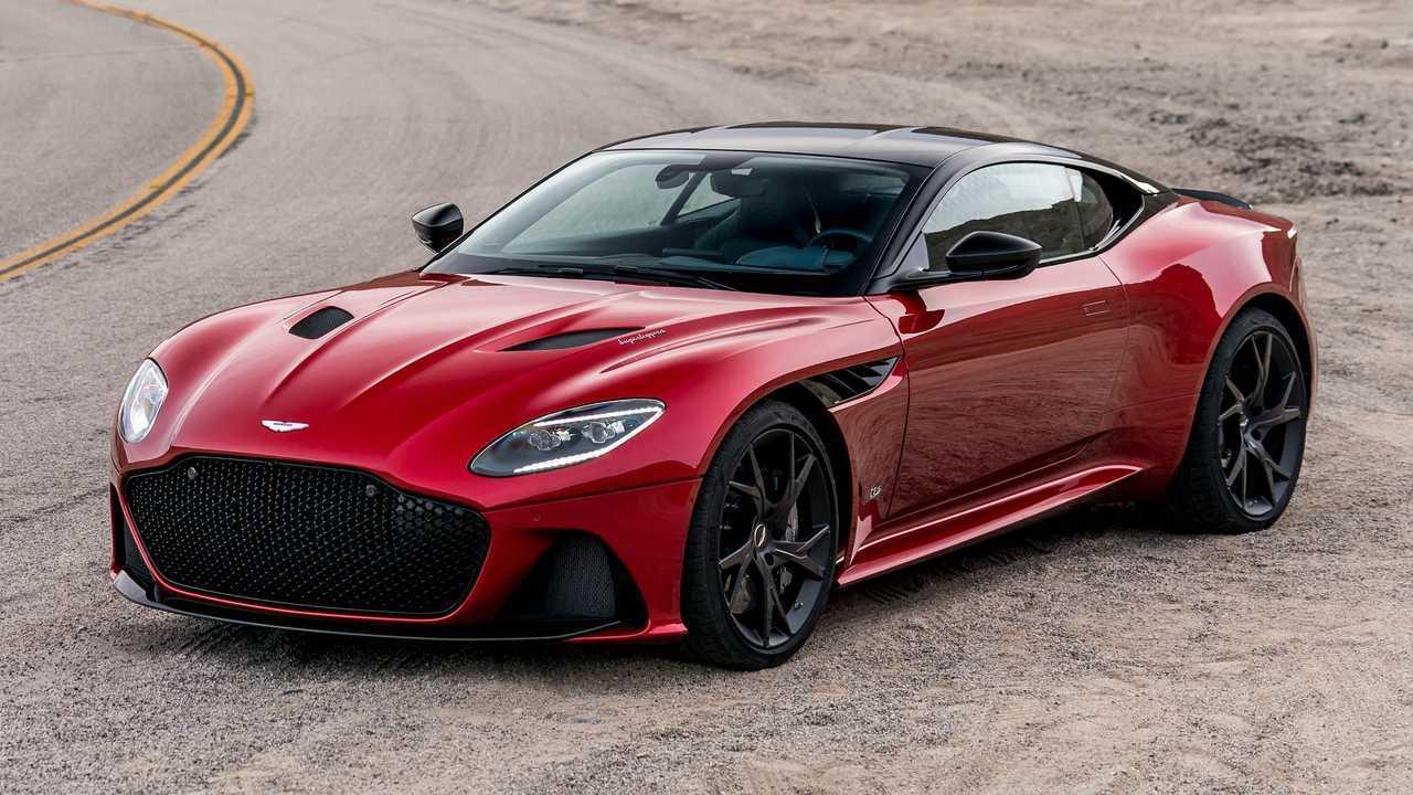 Aston Martin DBS Superleggera Exterior
