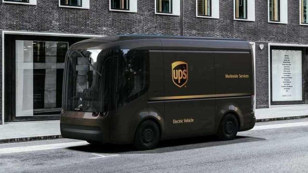 arrival-ups van