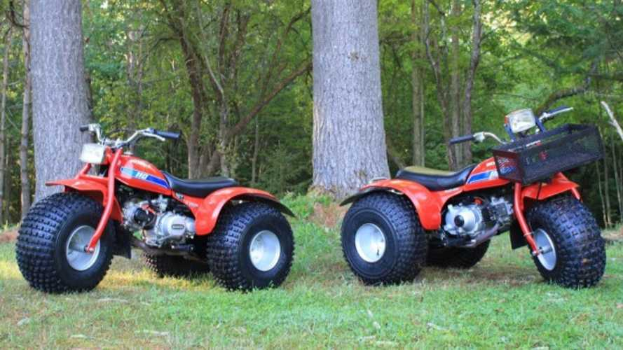 These Honda ATC 110s Look Like Loads Of Fun