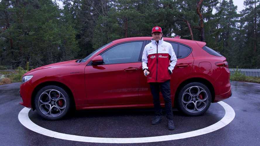 Alfa Romeo Stelvio, ecco l'auto aziendale di Kimi Raikkonen