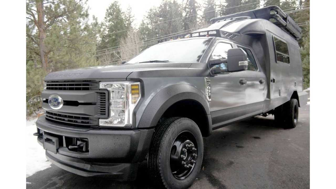 2019 Ford F-450 4x4 Expedition Camper Truck For Sale Front