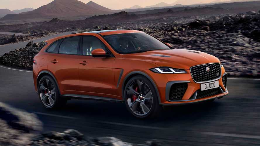 Jaguar F-Pace SVR (2020)