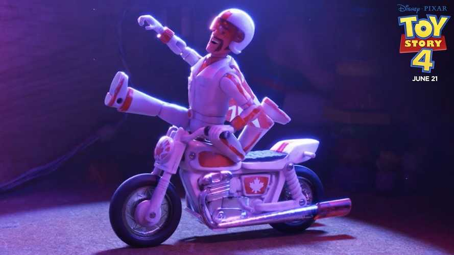 Evel Knievel's son sues Disney over Toy Story 4 stunt-alike