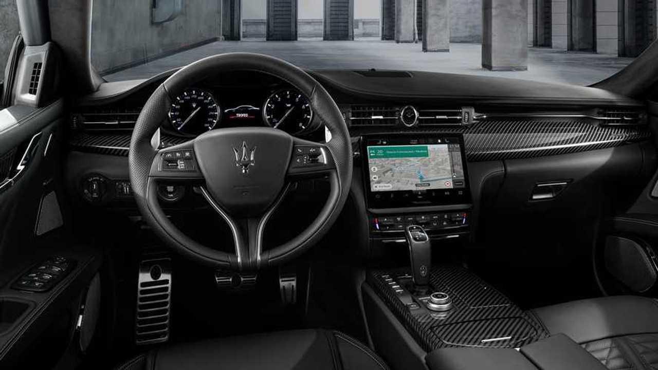 Maserati TomTom infotainment