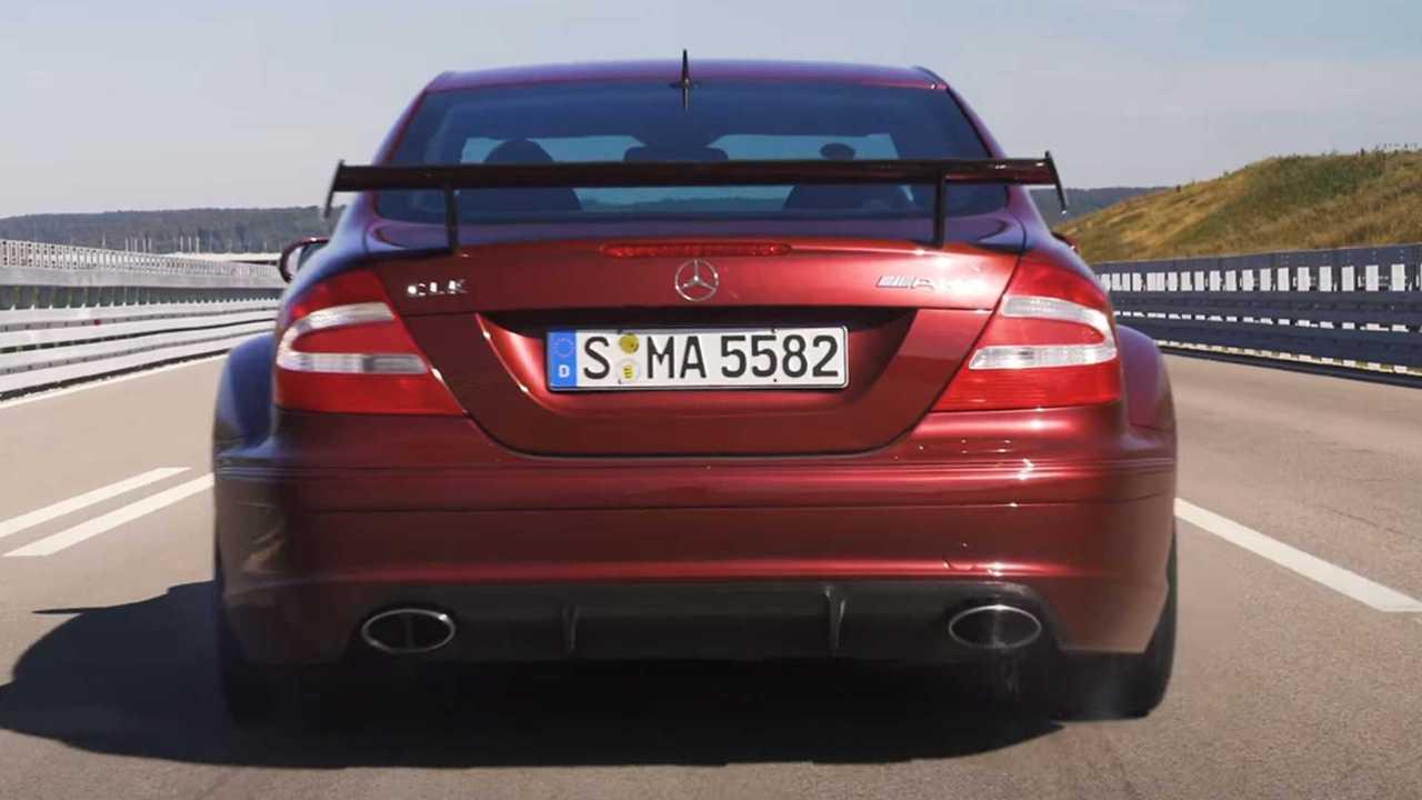 Mercedes gyorsulás videó