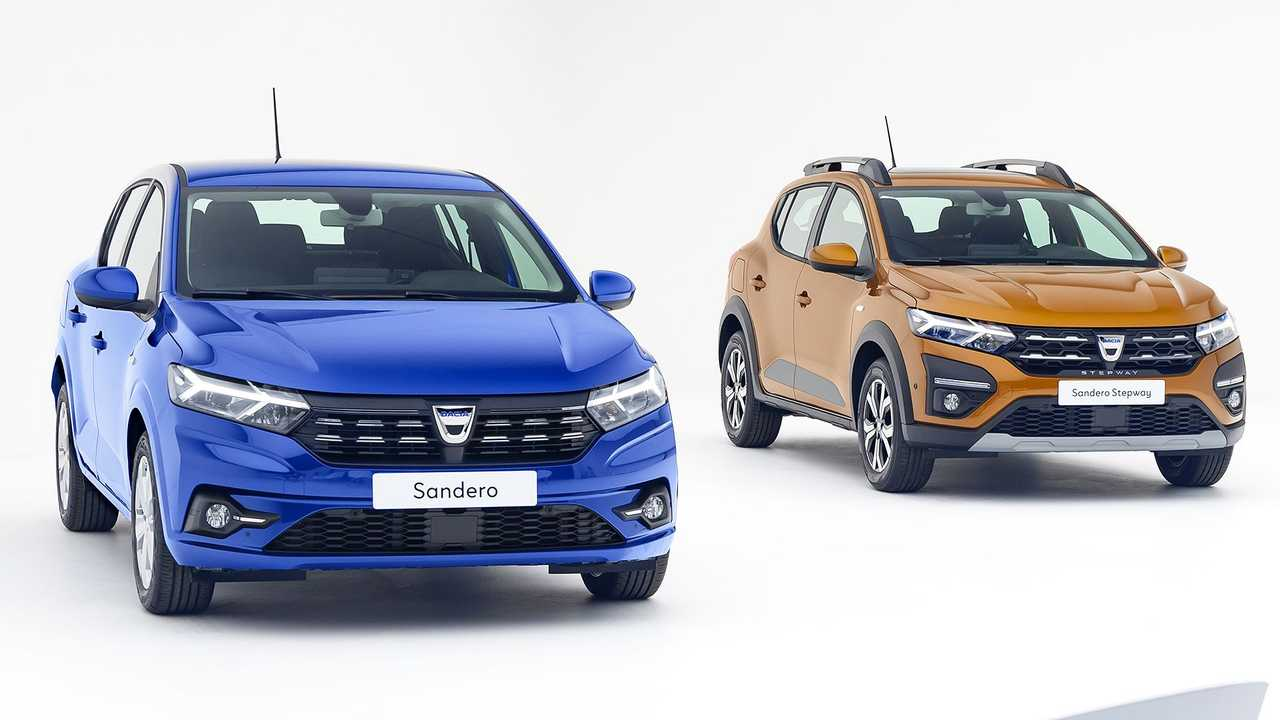 Новые Dacia Sandero и Sandero Stepway (2020)