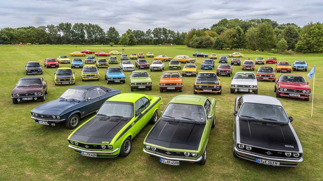 Opel Manta A: 50. Geburtstag am Timmendorfer Strand