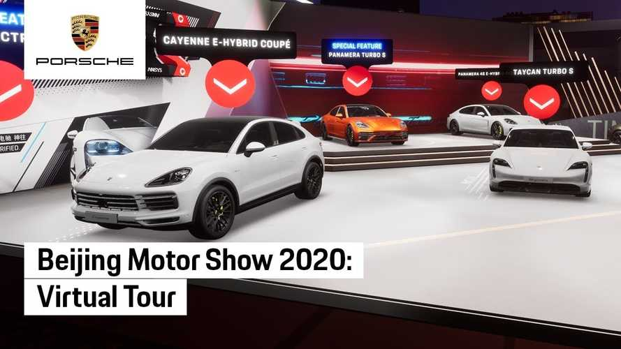 Porsche Allows You To Virtually Visit Its 2020 Beijing Motor Show Stand