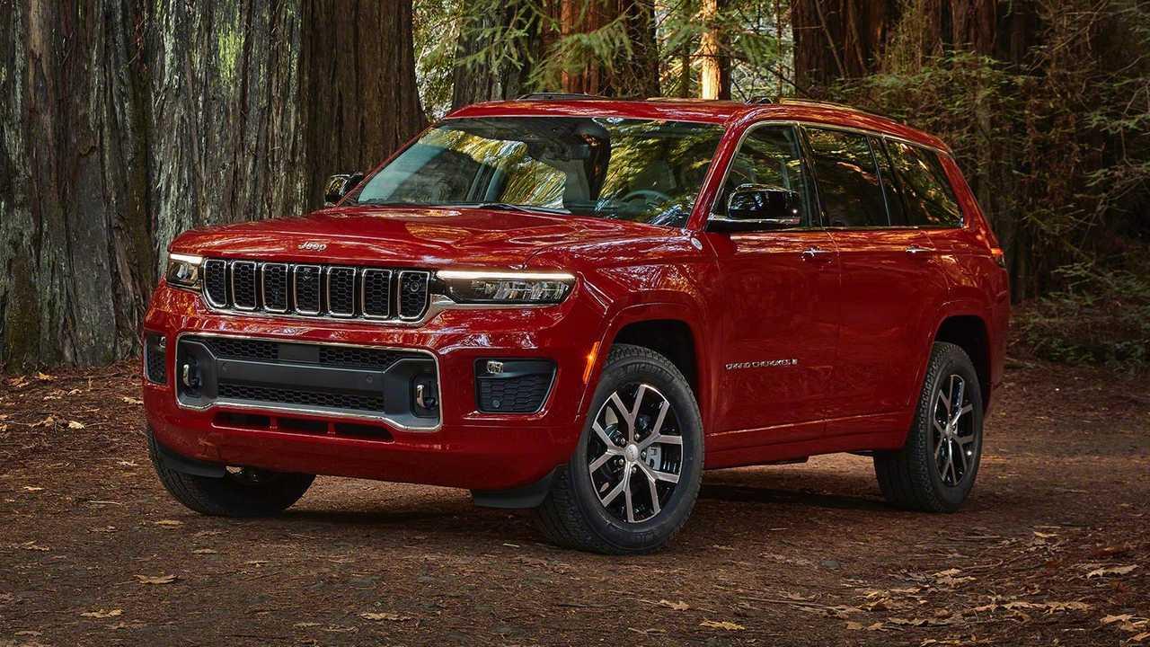 2021 Jeep Grand Cherokee L Extérieur