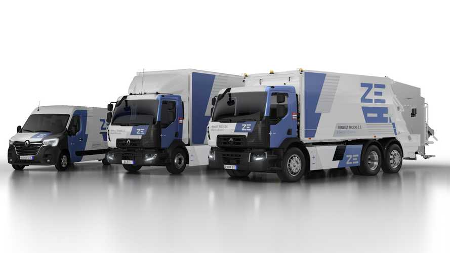 Renault Trucks'ın elektrikli araç serisi genişliyor