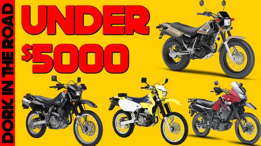 Here Are The 7 Best Used Dual-Sport Motorcycles Under $5,000
