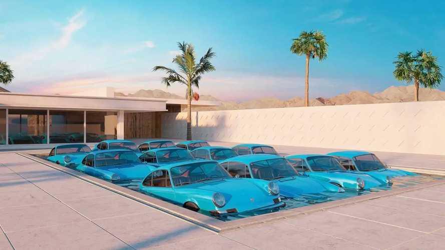 Porsche 911 Digital Art By Chris Labrooy